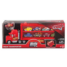 100 Cars Mack Truck Playset Disney Mini Racers Transporter Target Australia