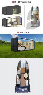 100 House Design Photo Entry 27 By MahmoudEG For Shipping Container 3D