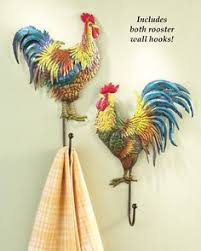 Amazon Rooster Kitchen Curtains by Rooster Wall Rack With Measuring Cups Http Shop Crackerbarrel