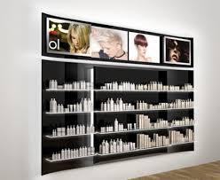 Salon Product Shelf Display Ideas