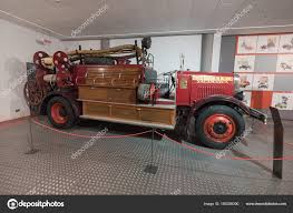 100 Fire Truck Museum Salamanca Spain December 2017 Historic Histrory