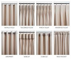 Sheer Curtains For Traverse Rods by There Are So Many Drapery Headings Choices Form Often Follows