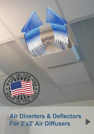 Drop Ceiling Vent Deflector by Plastic Air Vent Deflector 1800ceiling Plastic Air Diverter