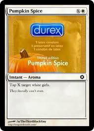 Pumpkin Pie Flavored Condoms by How To Trap A White Rebrn Com