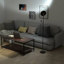 led stehleuchte stehle leseleuchte 30w 5w wohnzimmer