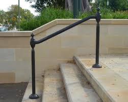 Wrought Iron Outdoor Hand Railings | Hollis Park Hand Rails - Cast ... Outdoor Wrought Iron Stair Railings Fine The Cheapest Exterior Handrail Moneysaving Ideas Youtube Decorations Modern Indoor Railing Kits Systems For Your Steel Cable Railing Is A Good Traditional Modern Mix Glass Railings Exterior Wooden Cap Glass 100_4199jpg 23041728 Pinterest Iron Stairs Amusing Wrought Handrails Fascangwughtiron Outside Metal Staircase Outdoor Home Insight How To Install Traditional Builddirect Porch Hgtv