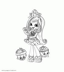Coloring Pages For Shopkins