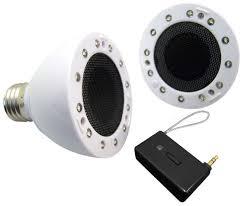 ion sound shine wireless light bulb speaker thumbnail speaker