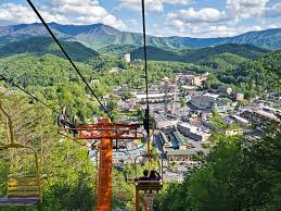 Gatlinburg Chair Lift Fire by Try The Sky Lift For Great Smoky Mountains Photos William