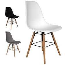 retro stuhl schalenstuhl pop deco esszimmer stühle holz