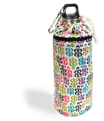 Keep Leaf Clover Small Organic Insulated Bottle Bag For 380 Ml To 600 Bottles