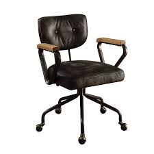 ACME Hallie Executive Office Chair, Vintage Black Top Grain Leather Wingback Office Chair Vintage Top Grian Real Leather Desk Alinium Chairs Cad Drawings Vanbow Memory Foam Adjustable Lumbar Support Knob And Tilt Angle High Back Executive Computer Thick Padding For China Italy Design Speaking Antique Table Hxg0435 Guide How To Buy A 10 Us 18240 5 Off18m Writing Desks Rosewood Living Room Fniture Tables Solid Wood Book Board Chinese Style On Fjllberget En Andinavisk Karaktr Ikea Home Office Retro Chair With Ceo Sign Isolated A White Background Give Those Old New Life 7 Steps Pictures Soft Padded Mid Light Brown