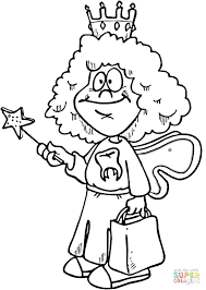 Toothpaste And Toothbrush Coloring Pages Dental For Preschoolers Click Tooth Fairy Printable