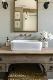 modern farmhouse bathroom landhausstil badezimmer