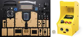 build your own adorably tiny arcade cabinet with this diy kit