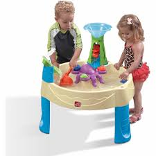 Step2 Tan 2 In 1 by Step2 Naturally Playful Sand Table Includes Cover 2 Shovels 2