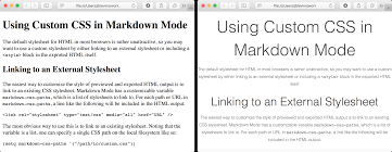 Text Decoration Underline Style by Using Custom Css In Markdown Mode
