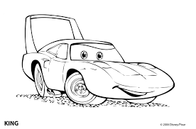 Cartoon Car Colouring Pages