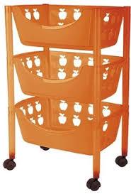 big badezimmer trolley badezimmer rollwagen kunststoff in verschiedenen farben orange