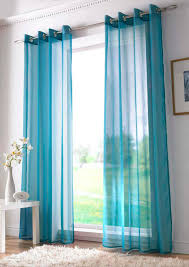 Sheer Voile Curtains Uk by Plain Ring Top Voile Teal Free Uk Delivery Terrys Fabrics