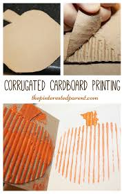 Spookley The Square Pumpkin Activities Pinterest by Corrugated Cardboard Printing With A Pumpkin For Fall Autumn Or