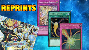 Best Exodius The Ultimate Forbidden Lord Deck by Reprints Cosmic Cyclone Storming Mirror Force Y Dimensional