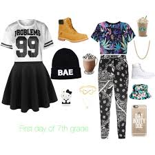 Cute 7th Grade Outfits First Day Of Polyvore