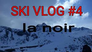 ski vlog 4 la piste noir avec des bosse poudreuse 2k17