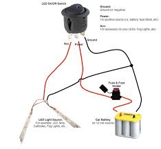 Lamp Wiring Kit For Table Lamp by Diagram Led Rocker Switch Diagram2 Lamp Wiring Diagram 12v Fog
