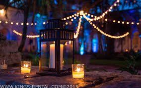 BISTRO LIGHTS STRING LIGHTS RENTAL IN MIAMI AND BROWARD by Kings