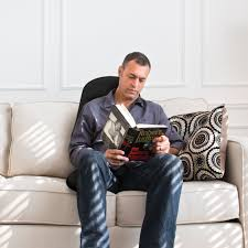 Massage Chair Pad Homedics by Homedics Vibration Comfort Back Massage Chair Cushion With Heat