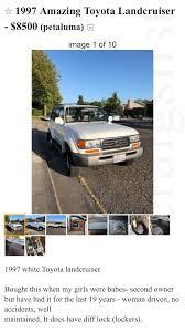 100 Craigslist North Bay Cars And Trucks Craigslist 1997 LX450 Locked Berkeley CA Page 2 IH8MUD Forum