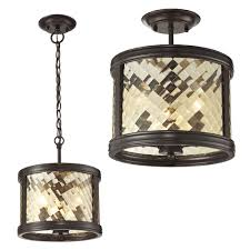 rubbed bronze ceiling light fixture http