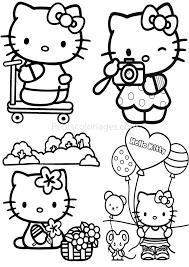 Hello Kitty 96 Dessins Animés Coloriages À Imprimer Tout Dessin