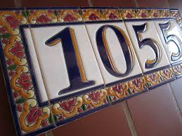 mission style house number tiles on your spanish revival home how to