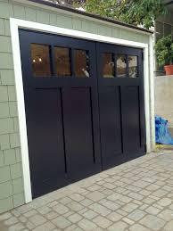 Out Swing Carriage Garage Doors Traditional Shed San Regarding