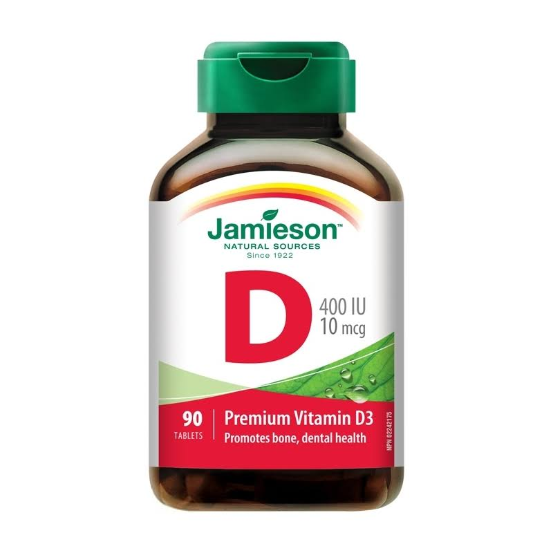 Jamieson Vitamin D Supplement - 400IU, 90 Count