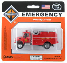 100 Boley Fire Trucks HO Scale International Brush Patrol Truck Dept Red