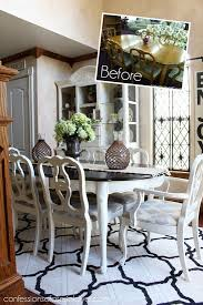 Black Kitchen Table Decorating Ideas by Best 25 Dining Table Redo Ideas On Pinterest Dining Table