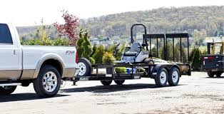 Tandem Axle Landscape Trailer UT616TA Open Side Shown With Optional Mounted Spare Tire
