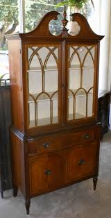 China Cabinet Mahogany china cabinets antique china cabinets