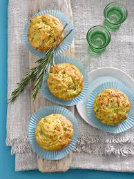 rosmarin zucchini muffins