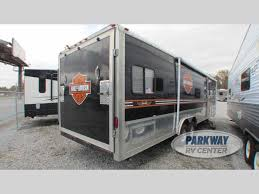 Used 2005 Forest River RV Work And Play 28 DB Toy Hauler Travel ...