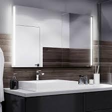 badspiegel mit led spiegel mit beleuchtung wandspiegel nach