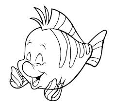 Disney Characters Coloring Pages Flounder Infinity 2 0 Princess