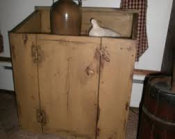 Dry Sink SALE Cupboard End Table Side