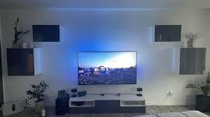 ikea wohnzimmer schrank hemnes tv wohnwand