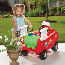 100 Fire Truck Cozy Coupe Spray Rescue Little Tikes