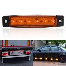 100 Truck Marker Lights Hot Discount 045c9 10x 24V 6SMD Led