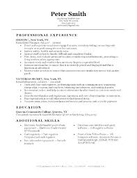 Skills And Experience Examples On Resume Customer Service